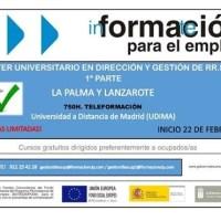 Máster Universitario en Dirección y Gestión de RR.HH.