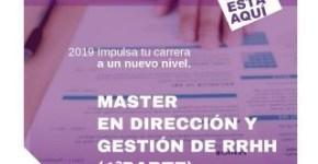 Máster en Dirección y Gestión de Recursos Humanos 1ª Parte