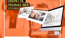 Curso de Páginas Web GRATIS + BECAS de Transporte, conciliación familiar y/o discapacidad