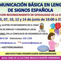 Comunicación Básica en Lengua de Signos Española