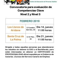 Competencias Claves Nivel 2 y Nivel 3