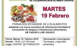 Manipulador de Alimentos y Gestión de Ingredientes Alérgenos e Intolerancias Alimentarias.