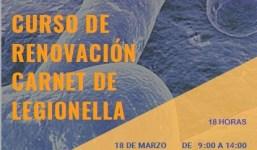 Curso de renovación carnet de Legionella