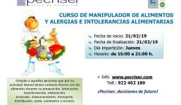 Manipulador de alimentos y Alergias e intolerancias alimentarias