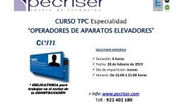 TPC Operadores de Aparatos Elevadores