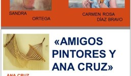 Amigos Pintores y Ana Cruz