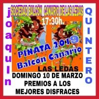 """Baile de Piñata en """"Balcón Canario"""""""