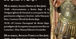 Nacen las I Jornadas del Patrimonio Religioso-Cultural de Breña Baja