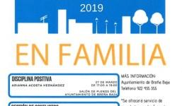 """Talleres para madres y padres """"Educar en Familia"""" 2019"""