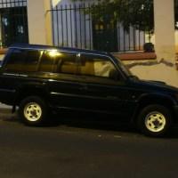 Vendo todotreerno  Mitsubishi Galloper Exceed, 5 puertas, 7 plazas, diesel, manual, 195.000km.