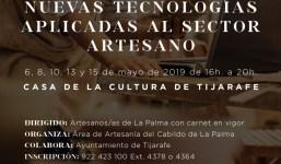 TALLER DE NUEVAS TECNOLOGÍAS APLICADAS AL SECTOR ARTESANO