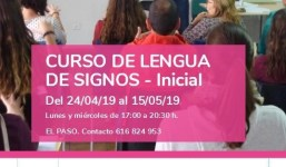 Curso de Lengua de Signos - Inical