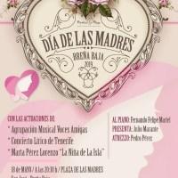 Concierto de Voces Amigas y el Concierto Lirico de Tenerife por el Día de las Madres