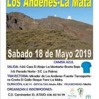 De Los Andenes a La Mata, caminando !!!!