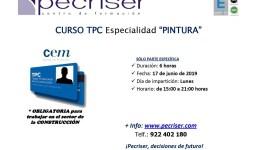 """Curso TPC: Especialidad de """"Pintura"""""""