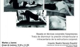 5 Sesiones de aprendizaje de readaptación postural