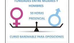 Curso Impulso de la Igualdad de Oportunidades entre Mujeres y Hombres