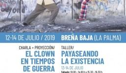 El Cabildo organiza un taller de clown impartido por un grupo de circo solidario de ámbito internacional