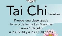 Demostración de Tai Chi y clase gratis.