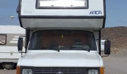 Autocaravana for arca