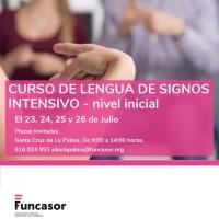 Curso de Lengua de Signos intensivo - nivel inicial
