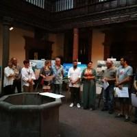 El Cabildo expone las obras del XIII Concurso de Pintura Rápida al Aire Libre Francisco Concepción en la Casa Principal de Salazar