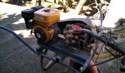Motor y bomba de sulfatar/lavar