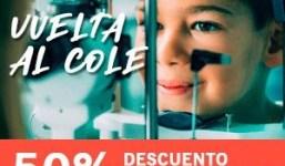 VUELTA AL COLE. Cuida la salud visual de tus hijos.