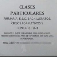 Clases particulares en Los Llanos
