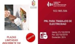 TPC 20 horas especialidad de electricidad