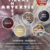 """""""ArTExtil. Fibras y Tintes"""", colectivo de artesanas y artesanos. Sala de Exposiciones Las Tricias"""