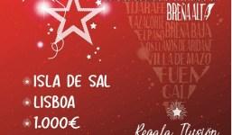 Arranca la XIII campaña de navidad de Pymesbalta en Breña Alta con 2 fantásticos viajes y 1500 euros en bonos de compra.