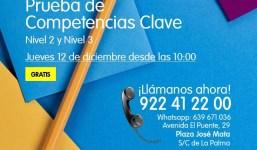 Prueba de Competencias Clave en la Academia Canarias
