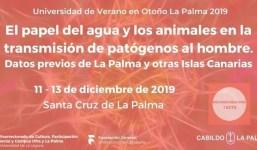 El papel del agua y los animales en la transmisión de patógenos al hombre. Datos previos de La Palma y otras islas Canarias