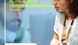 Nueva convocatoria: curso gratuito de Actividades de Gestión Administrativa