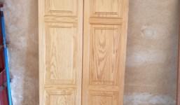 Puertas grandes para armario