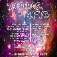 """Exposición de Pintura """"El Cosmos y el Arte"""" del Colectivo de Artistas Unidos en el Arte AUNARTE en San Andrés y Sauces"""