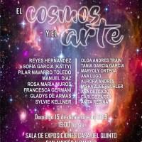 """Esxposición colectiva """"El Cosmos y el Arte"""" en Los Sauces"""