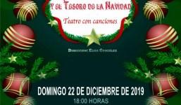 """Teatro Infantil """"Hansel y Gretel y el Tesoro de la Navidad en San Andrés y Sauces"""