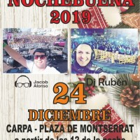 Fiesta de Nochebuena en San Andrés y Sauces