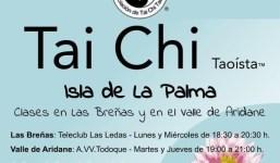 Clases de Tai Chi en Las Breñas y en el Valle de Aridane.