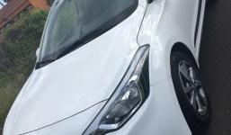 Hyundai I20 versión Style sky con techo panorámico eléctrico.