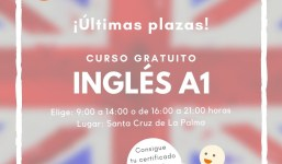 INGLES A1 (PRINCIPIANTES) ULTIMAS PLAZAS