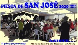 FIESTA SAN JOSÉ: Reunión Propuestas
