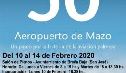 """Expo """"50 años del Aeropuerto de Mazo"""""""