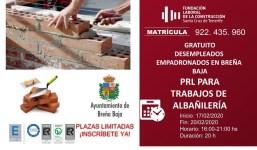 Curso de PRL para trabajos de Albañilería