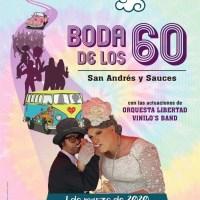 Boda de los 60 en San Andrés y Sauces