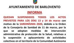 Sardinísima- Barlovento 2020 SUSPENDIDO