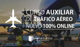 Curso Auxiliar de Tráfico Aéreo 100% ON LINE.