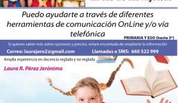 Apoyo escolar vía online o telefónica